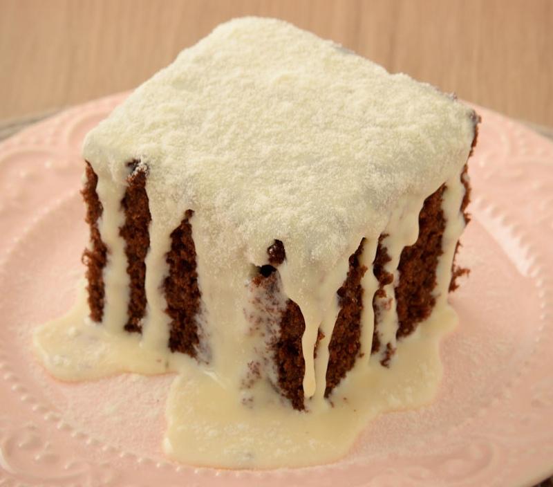 Veja a receita deste delicioso bolo de chocolate