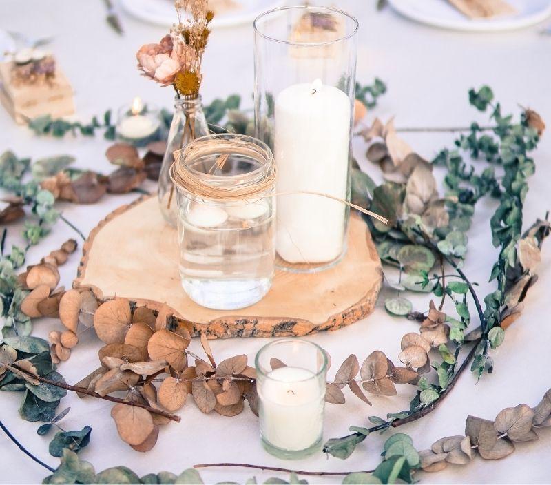 casamento centro de mesa