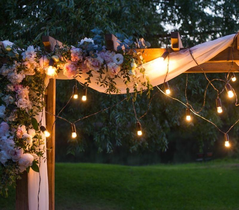 casamento luzes