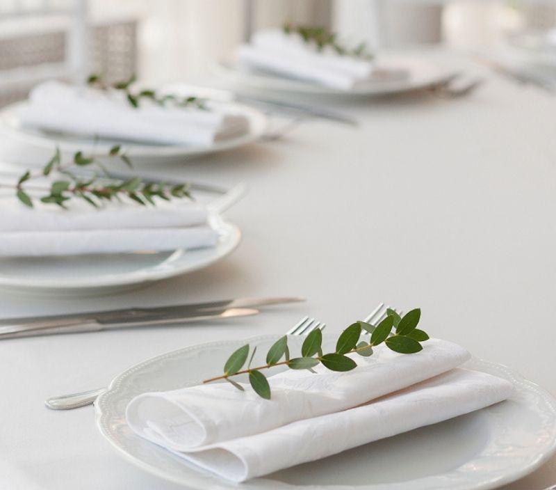 casamento mesa simples