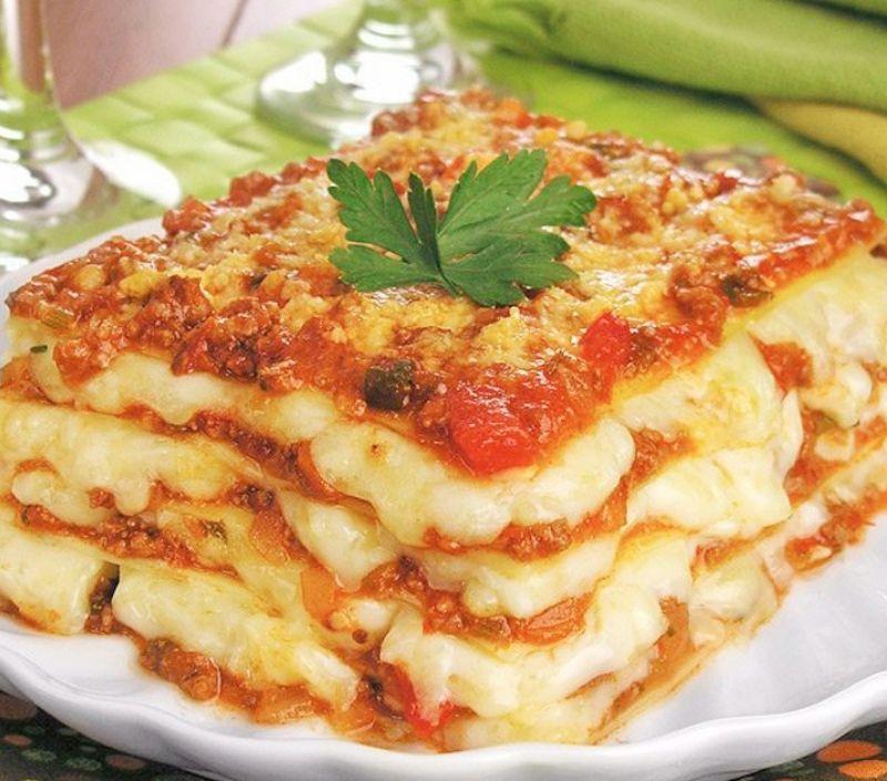 confort food lasanha