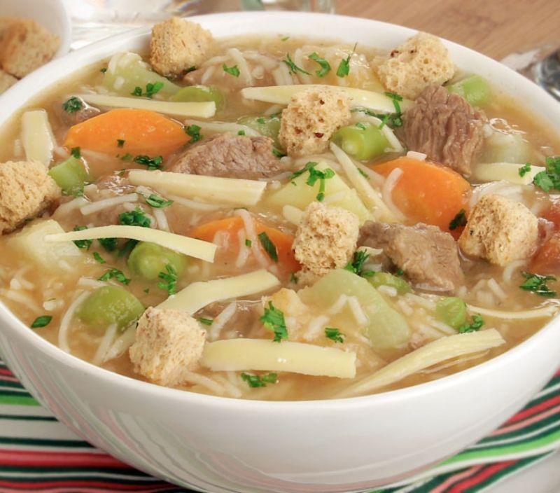 confort food sopa