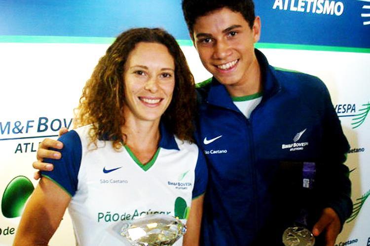Thiago Braz é ouro no salto com vara nas Olimpíadas Rio 2016 - com Fabiana Murer