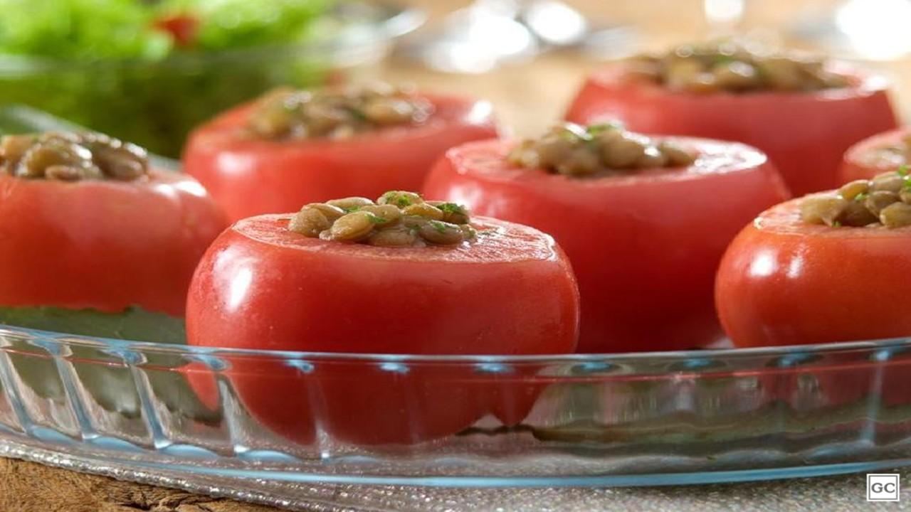 Lentilha no tomate
