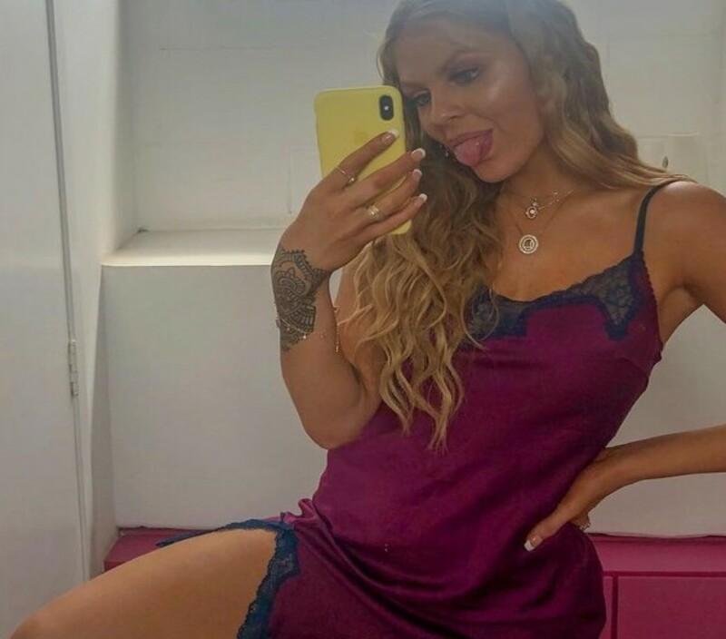 Luísa Sonza usa sleep dress