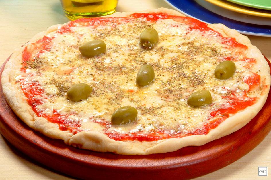 Pizza na panela de pressão
