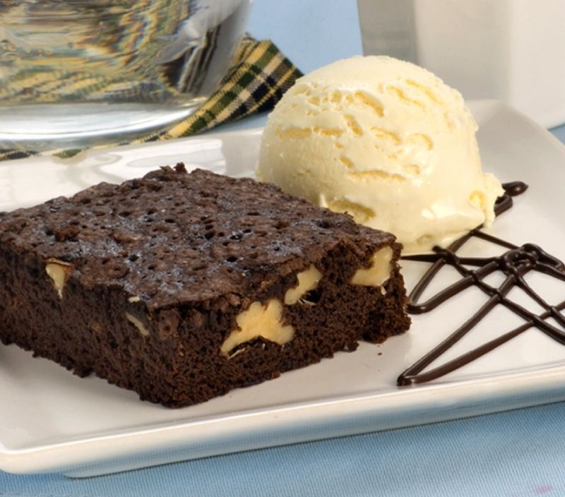 receita facil feriado brownie