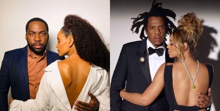Tais, Lazaro, Beyonce e Jay-Z