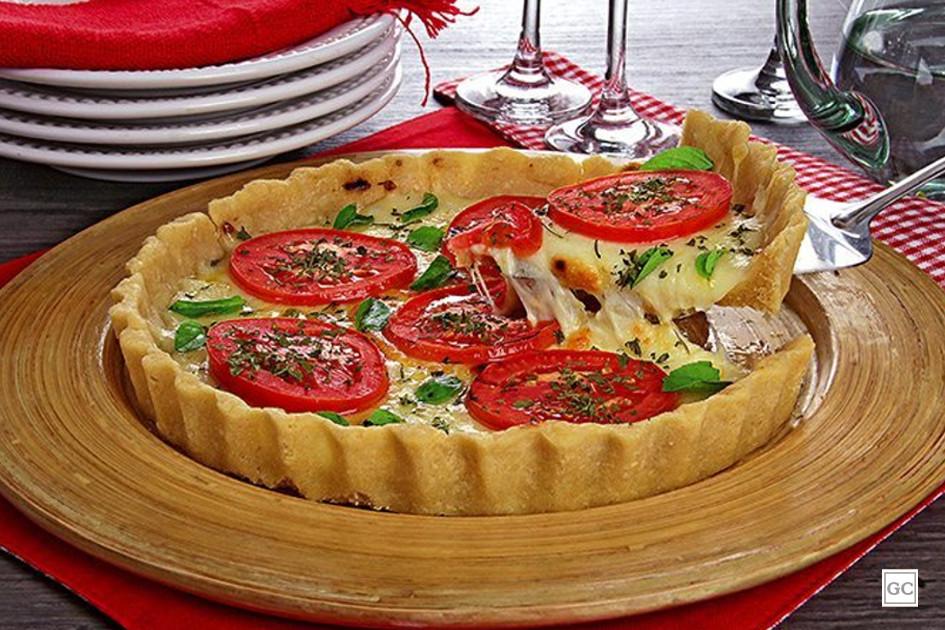 Torta-pizza marguerita