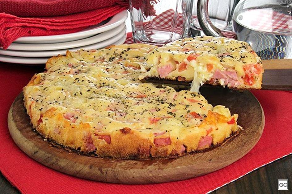 Torta pizza tradicional